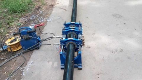 Заменен изношенный водопроводный ввод по ул. Миллеровской, 24
