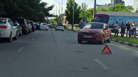 Машины таинственно столкнулись в Волжском районе
