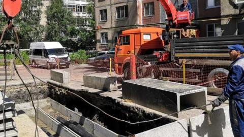 Энергетики заменили по концессии более 4 км теплосетей на ул. Куприянова