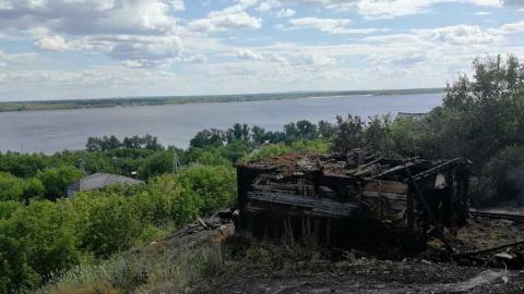 В Вольске после пожара в доме нашли труп мужчины