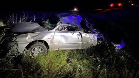 Подросток погиб, сев за руль