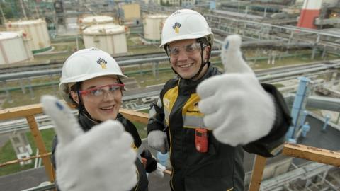Совет молодых специалистов Саратовского НПЗ отмечает десятилетний юбилей