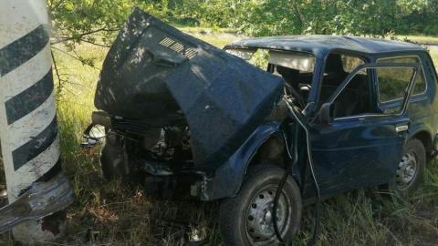 Двое жителей Балаковского района не пережили столкновение со столбом