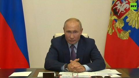 Владимир Путин поздравил Саратов с присвоением звания Город трудовой доблести | ВИДЕО