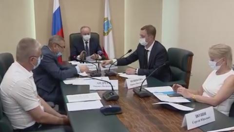 Валерий Радаев провел совещание по обращению с твердыми коммунальными отходами