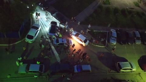 Пьяный 19-летний парень без прав разбил пять чужих машин