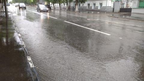 Область окропит легким дождём