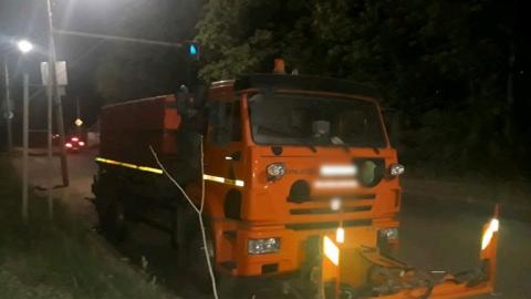 В Ленинском районе водитель сорвался с автоцистерны