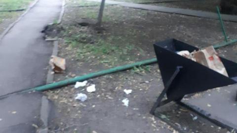 Заваленный мусором парк «Липки» возмутил саратовцев