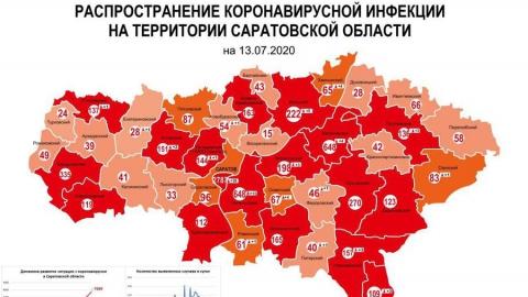 Жители Саратова и Энгельса заражаются коронавирусом быстрее всех в области