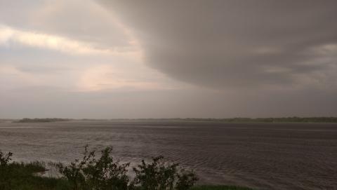 Сегодня на Саратов надвигаются ураган и ливень