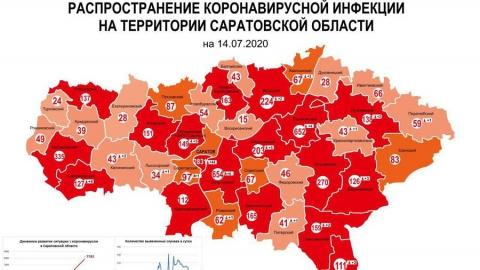 Число зараженных коронавирусом в Саратове снова растет