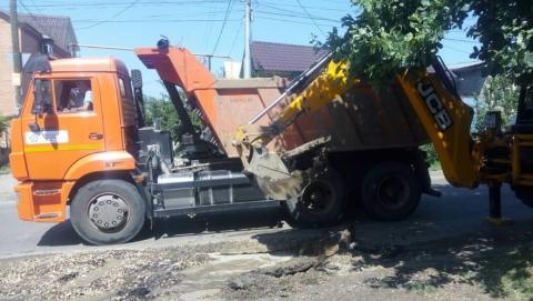 На ул. Вольская будут заменены 260 м изношенного водопровода