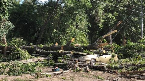 Ураган нанес Саратовской области ущерб в 122 миллиона рублей