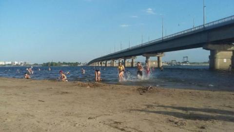 Пляж «Городские пески» все-таки открыли для саратовцев