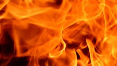 Полностью выгорел четырехквартирный дом в Ленинском районе