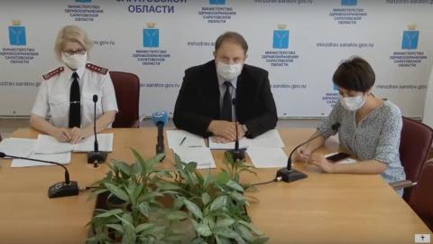 1079 медиков Саратовской области заразились коронавирусом
