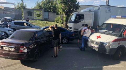 Пятилетняя девочка пострадала в тройной аварии на Сокурском тракте