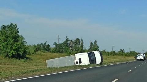 «Десятка» стала «кабриолетом» по пути в Балашов