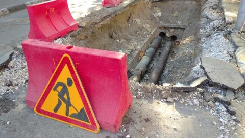 Энергетики перекрыли участок дороги в центре Саратова