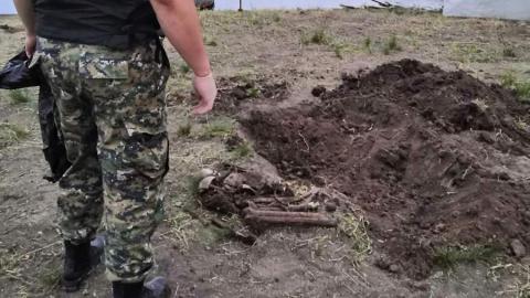 Селянин копал пруд и наткнулся на человеческие останки