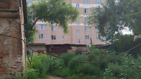 Администрация обратила внимание на опасный газопровод в центре Саратова