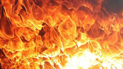 Мужчина пострадал при пожаре в Энгельсском районе