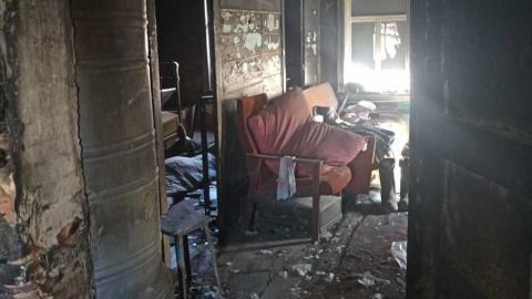 Житель Ивантеевского района сгорел из-за непотушенной сигареты