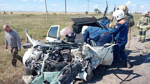Три человека погибли в Балаковском районе из-за лихача на встречке