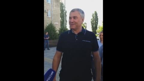 Вячеслав Володин предложил Саратову еще одну пешеходную зону | ВИДЕО