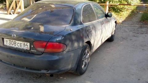 Пыльная Mazda оставила жителей Заводского района без воды