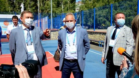 Балаковская АЭС передала городу новый многофункциональный физкультурно-спортивный комплекс