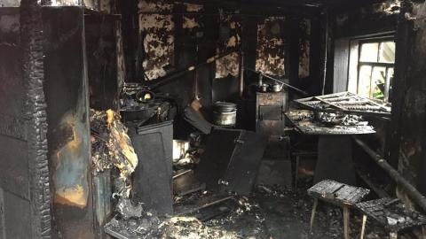 Жительница Пугачевского района задохнулась на пожаре
