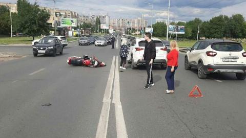 В Саратове сбита вторая девушка на мотоцикле