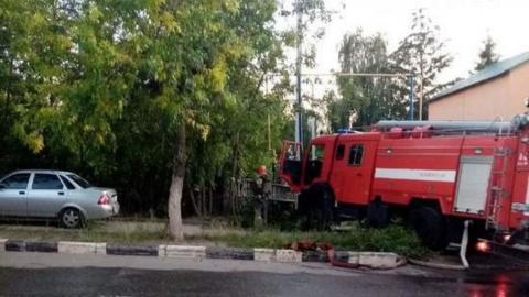 Крупный пожар в новостройке Заводского района