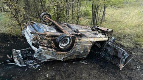 Мужчина на «девятке» разбился в Базарно-Карабулакском районе