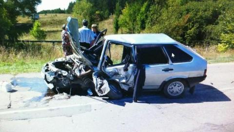 В Балтайском районе мужчина вылетел на встречку и погиб