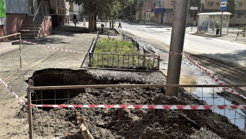 Новый тротуар расстроил саратовцев