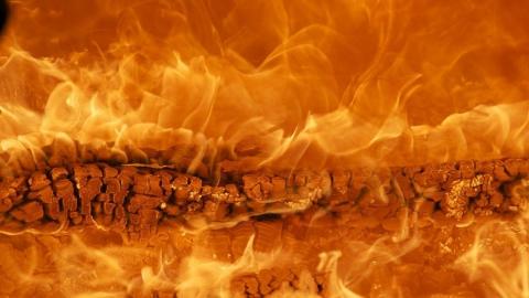 Дача сгорела под Хвалынском