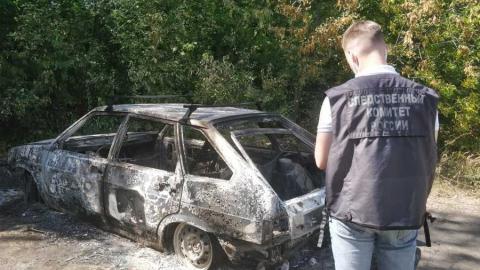 Пьяный дачник из Алексеевского района сгорел в автомобиле