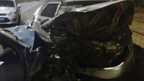 Четыре человека пострадали в массовом ДТП в Комсомольском поселке