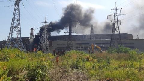 Пожар на территории ТЭЦ-2 в Саратове потушен