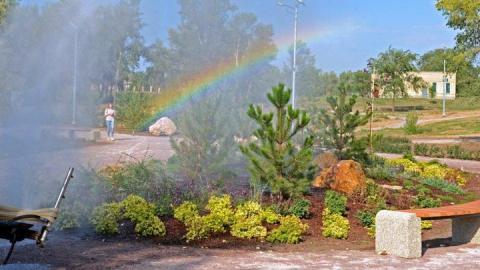 Балаковская АЭС: вместе поддержим чистоту в ландшафтном парке