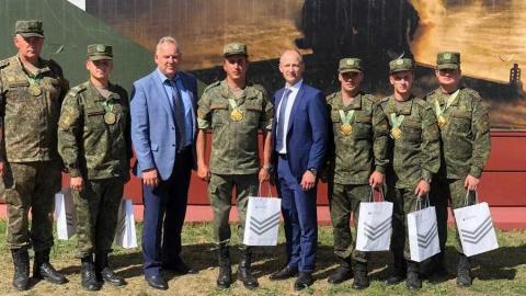 Сбербанк поздравил победителей конкурса «Мастера артиллерийского огня - 2020»