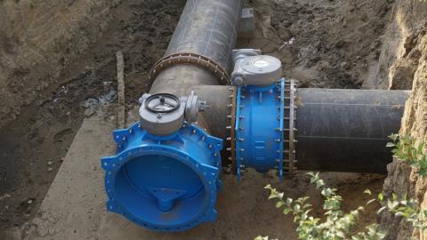 16 сентября жителей Ленинского района переключат на новый магистральный водопровод