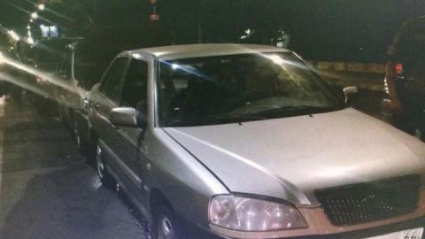 25-летний саратовец собрал «паровоз» из пяти машин на 50 лет Октября
