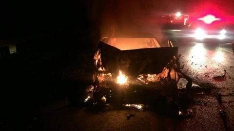 Молодой человек врезался в Toyota пенсионера и погиб в Воскресенском районе