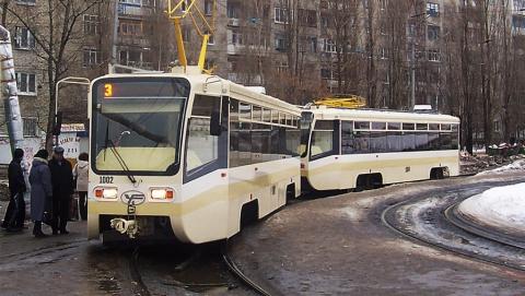 Четыре саратовских трамвайных маршрута встали из-за неисправности вагона