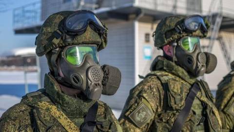 В Саратовской области прошли учения войск билогической защиты