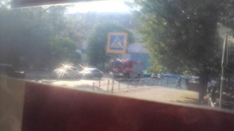 Трамваи встали в центре Саратова из-за ДТП на путях
